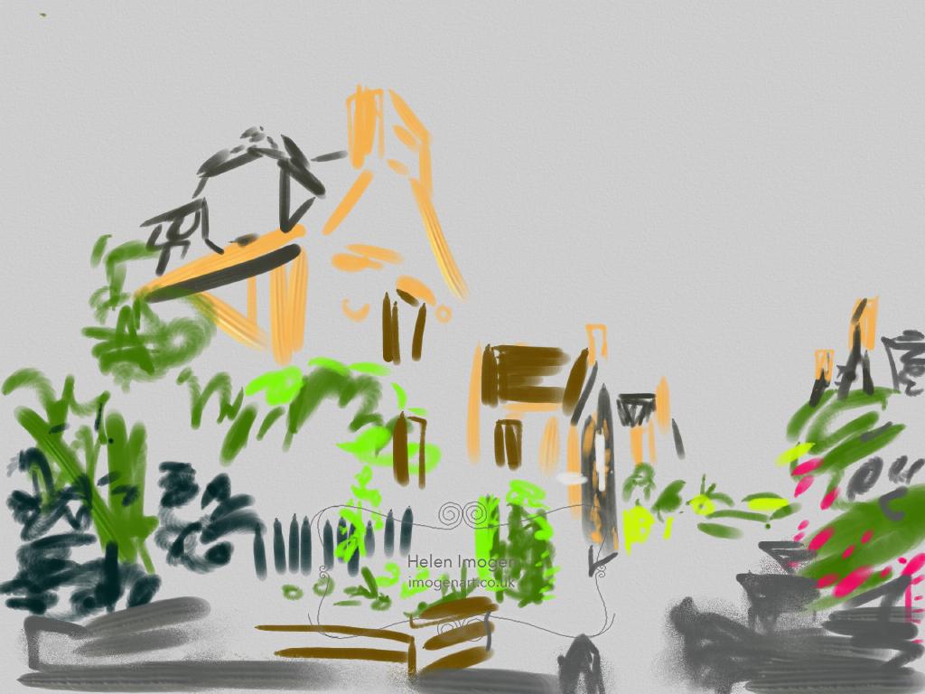 Lewis street cottages by Haymarket
